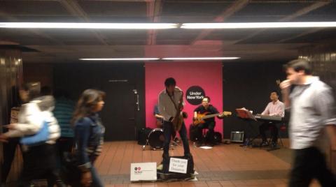 New York Subway Music Band